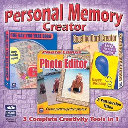 Personal Memory Creator 3 In 1 Photo Editor Greeting Card