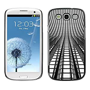 PC/Aluminum Funda Carcasa protectora para Samsung Galaxy S3 I9300 Lights Architecture Building City / JUSTGO PHONE PROTECTOR