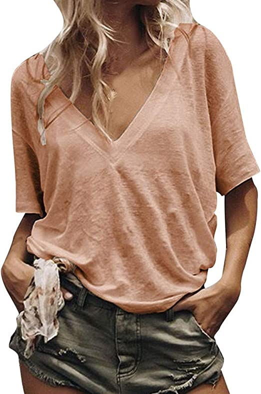 Pumsun Womens Long Sleeve Off Shoulder Solid Color Top Casual Tops Blouse Shirt