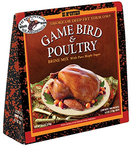 Hi Mountain Jerky Game Bird and Poultry Brine Mix