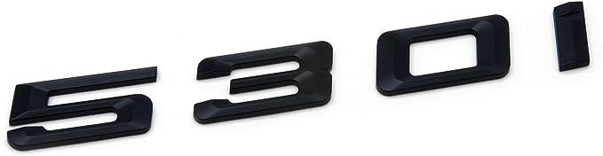 535i SUKRAGRAHA Replacement Model No Rear 3D Sticker Emblem Badge for BMW 520i 525i 528i 530i 535i 545i