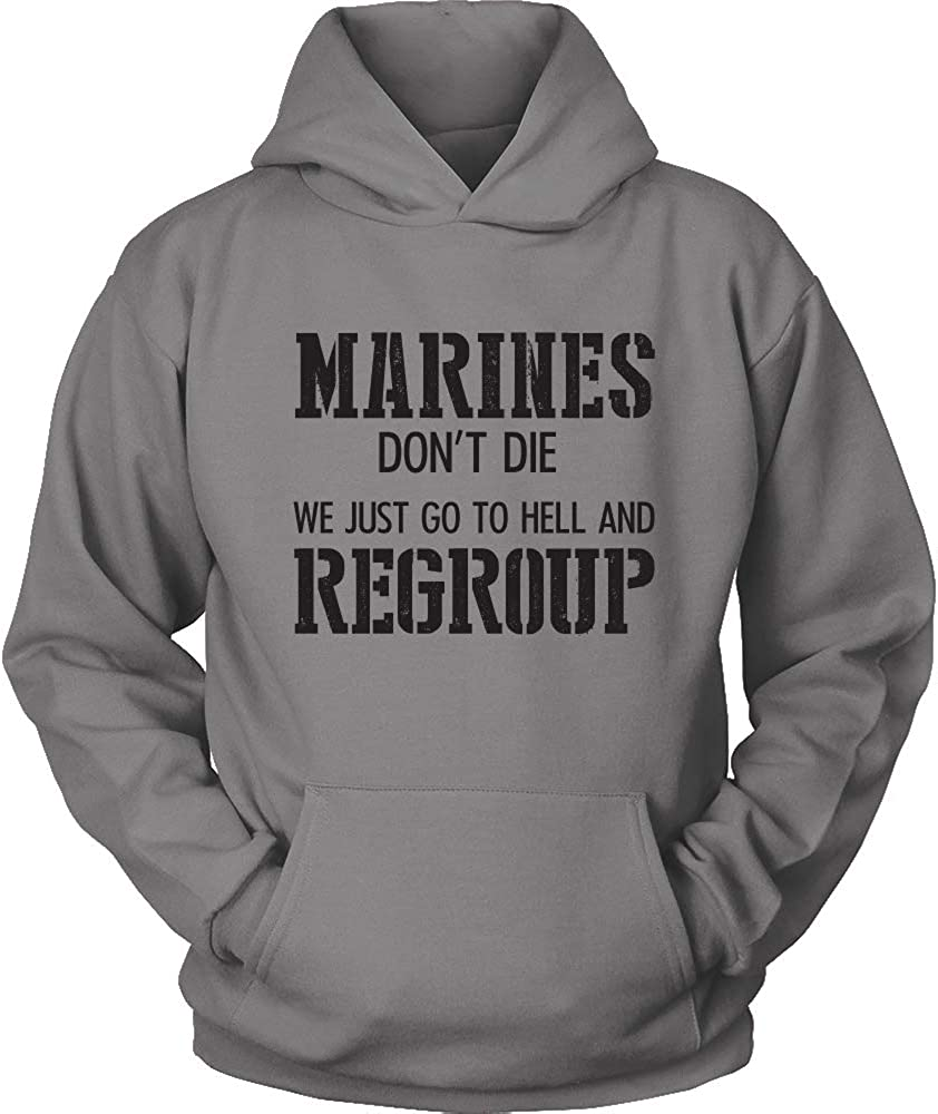 USMC Hoodie Marines Dont DIE USMC Veteran Marine Corps USMC Hoodie I am a Marine Sweatshirt