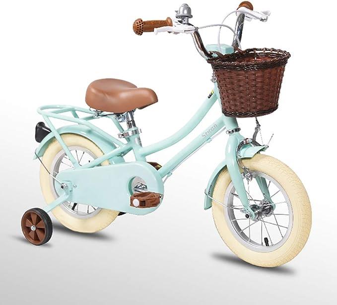 GAIQIN Durable Bicicleta para niños 2-3-4-5 años de Edad Frenos de ...