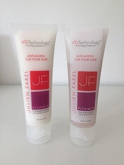Julien Farel a 2 B tecnología Antienvejecimiento equilibrio/Anti envejecimiento para su pelo – Vitamina
