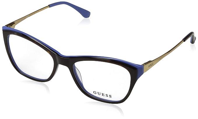Guess GU2604 092 52, Lunettes de Soleil Mixte Adulte, Bleu (Blu ... e6acd6bf35d4