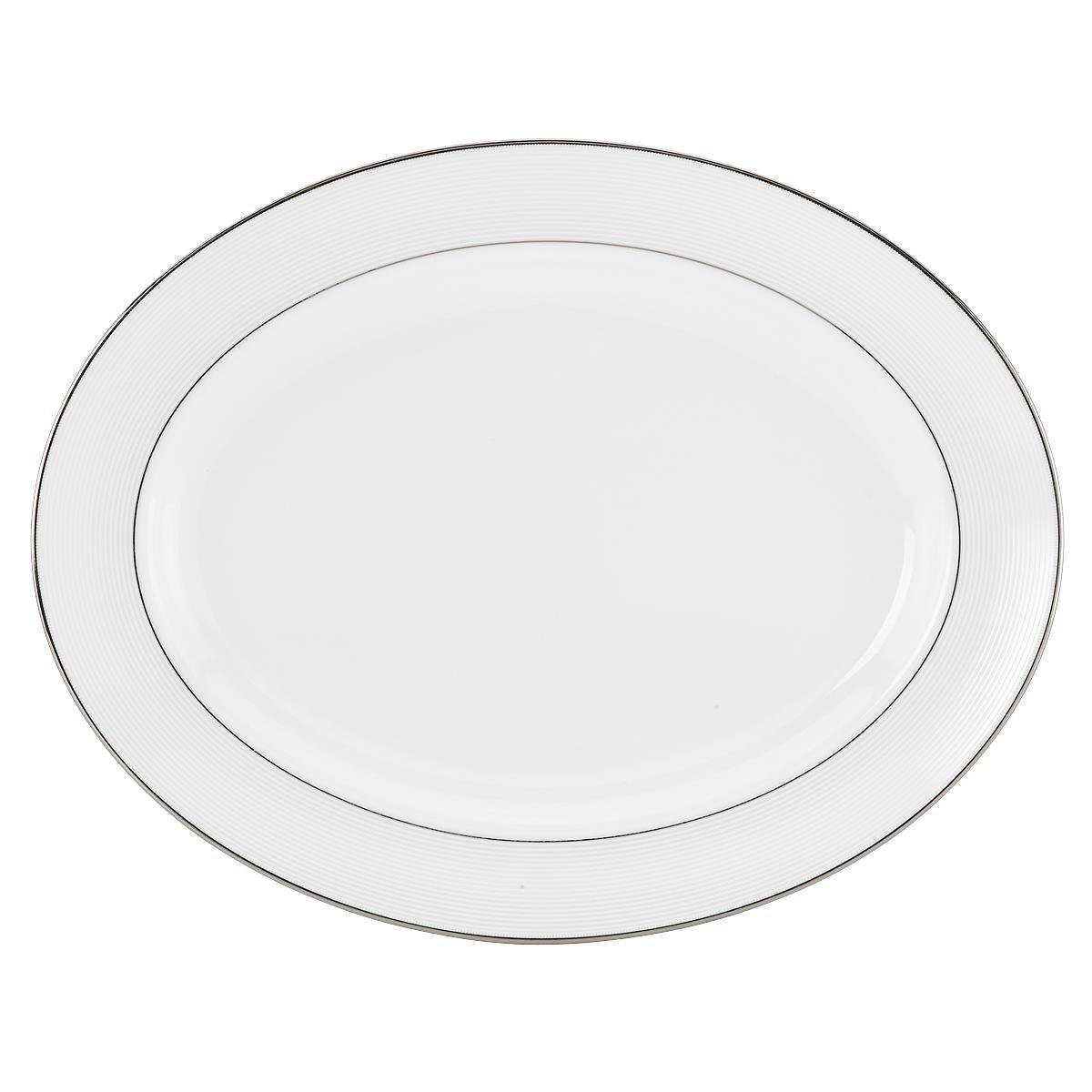 Lenox Opal Innocence Stripe 3-Piece Place Setting, White 853814