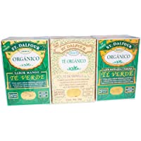 Té St. Dalfour 3 Pack Verde de Mango, Vainilla, Mandarina Naranja