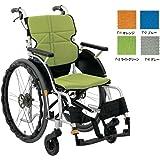 車椅子(自走式) ネクストコア・グラン NEXT-12B F-2ブルー<松永製作所>