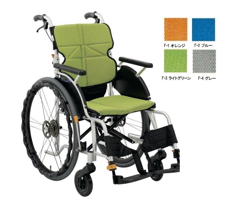 車椅子(自走式) ネクストコアグラン NEXT-12B  F-4 グレー<松永製作所> B00ZHOOA00