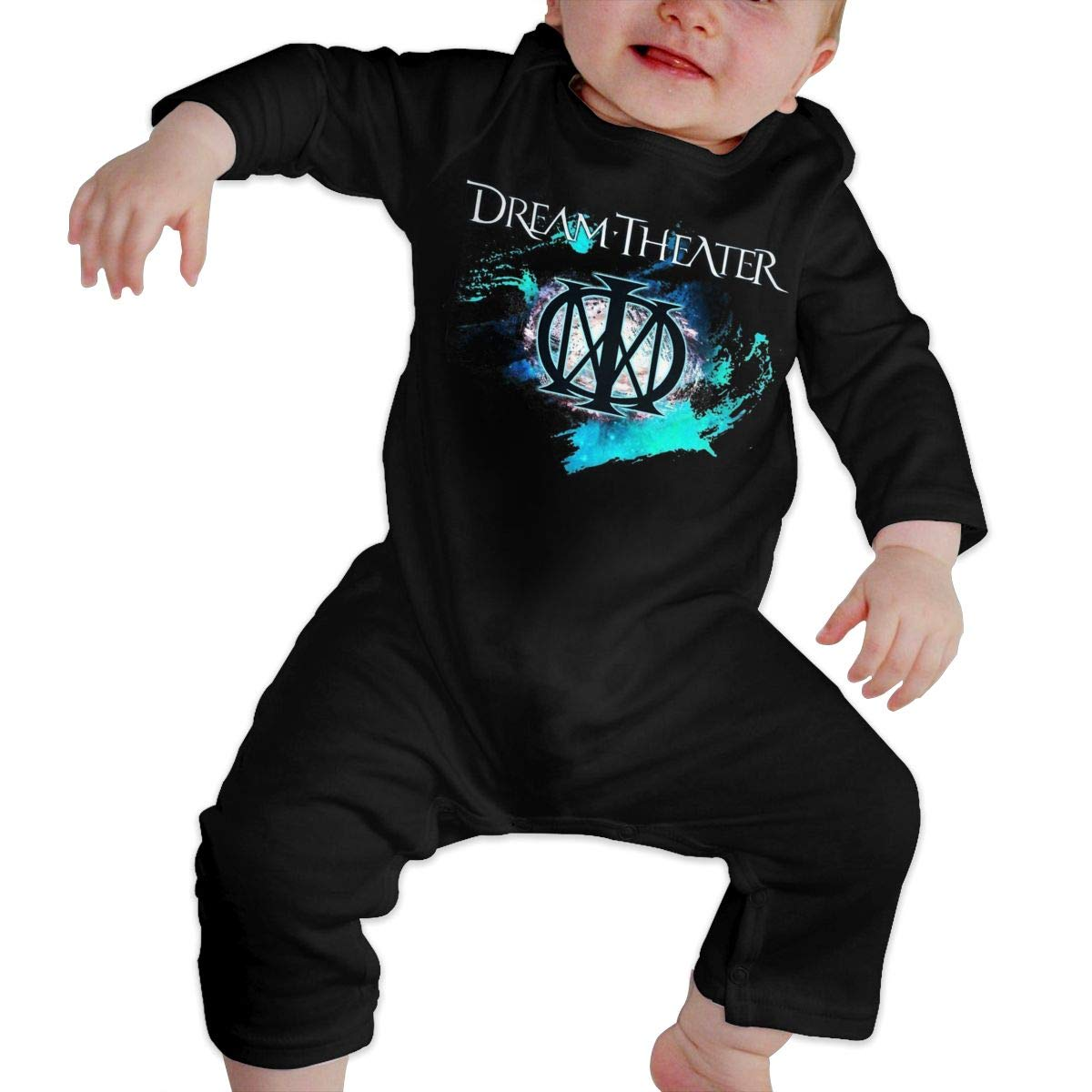 Fional Infant Long Sleeve Romper Dream-Theater Newborn Babys 0-24M Organic Cotton Jumpsuit Outfit
