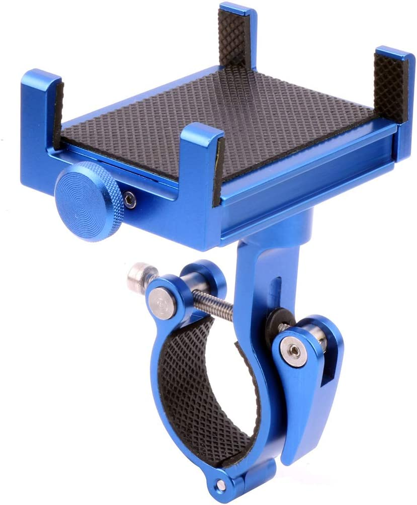 Bicycle Mobile Phone Fixed Bracket Holder Blue-047