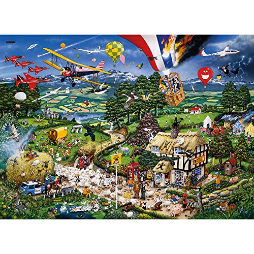 Gibsons I Love the Country Jigsaw Puzzle, 1000 piece Gibsons Games G576 Puzzles