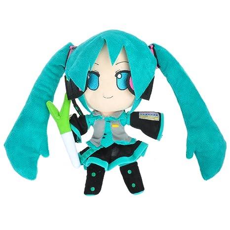 CoolChange muñeca de Peluche Vocaloid de Miku Hatsune