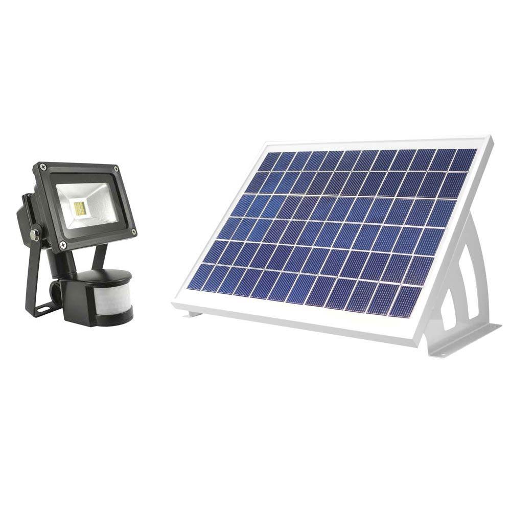 Evo SMD Elite Outdoor Solar Powered PIR Motion Sensor Security Light SolarCentre