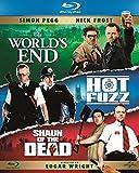 La Trilogie Cornetto : Le dernier pub avant la fin du monde + Hot Fuzz + Shaun of the Dead [Blu-ray]