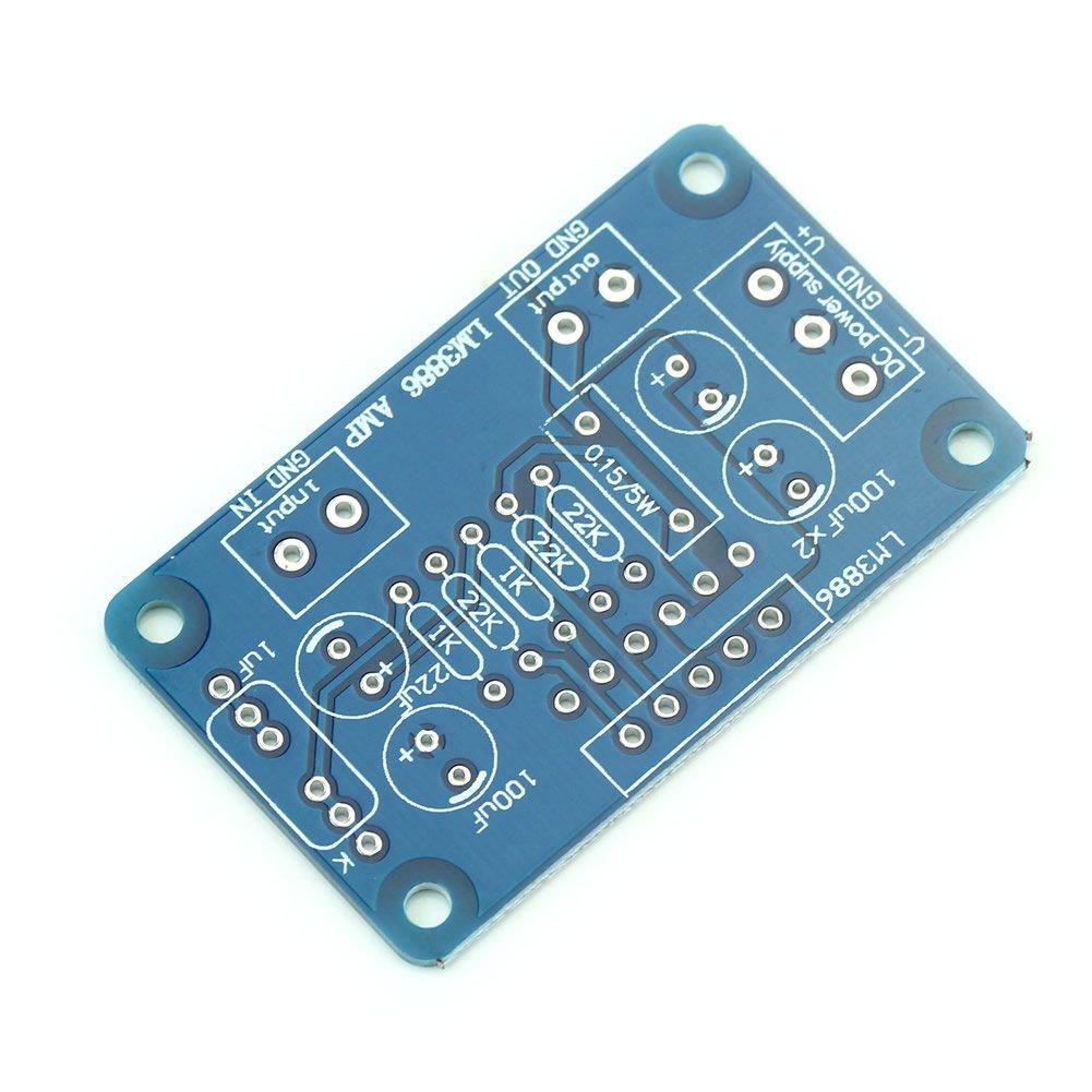 Amazon.com: Estone New 60W LM3886TF Sound Audio Amplifier Mono ...