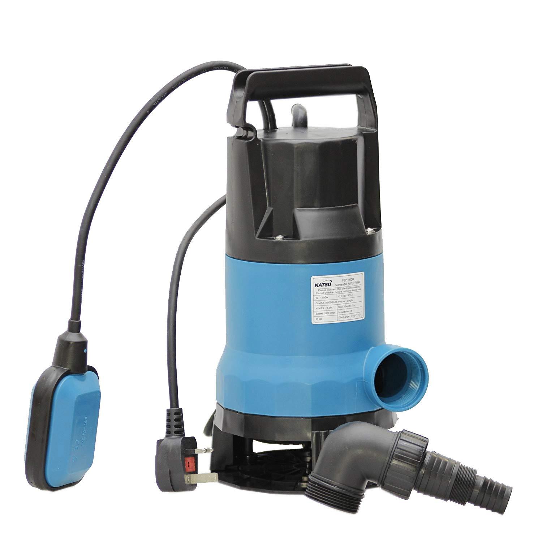 151654 1100W Heavy Duty Submersible Garden Pond Dirty Waste Water Pump