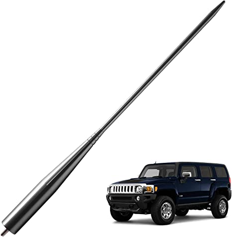 ANTENNA MAST Black for Hummer H2 2003-2009 6 3//4 Inch NEW