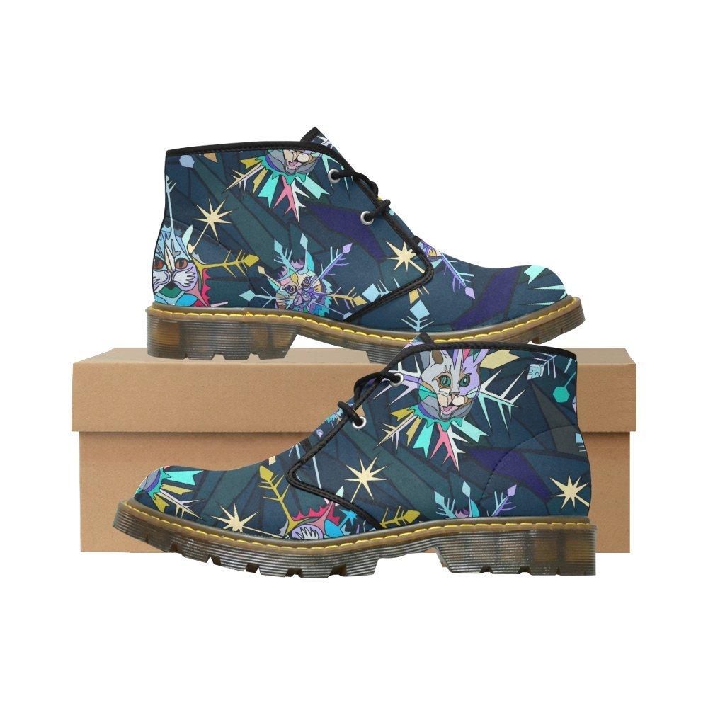 Artsadd Unique Debora Custom Women's Nubuck Chukka Boots Ankle Short Booties B0795V7D6B 10 B(M) US|Multicolored28