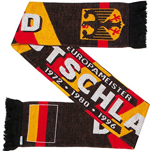 Germany Deutschland Soccer Knit Scarf