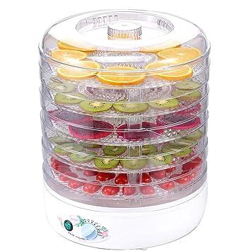 Qi Peng Secador de alimentos - Nueva categoría alimenticia PP, Gran capacidad de 5 capas