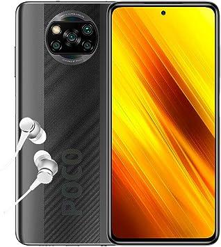 """Poco X3 NFC - Smartphone 6+64GB, 6,67"""" FHD+ cámara Frontal con Punch-Hole, Snapdragon 732G, 64MP AI Quad-cámara, 5160mAh, Color Gris Sombra (versión española + 2 años de garantía): Amazon.es: Electrónica"""