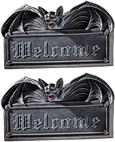 Design Toscano Vampire Bat Welcome Sign Wall Sculptures Review