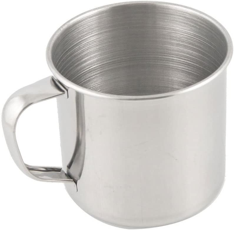 500ml Stainless Steel Moscow Drinking Mug Travel Camping Tea Coffee Handle Cup