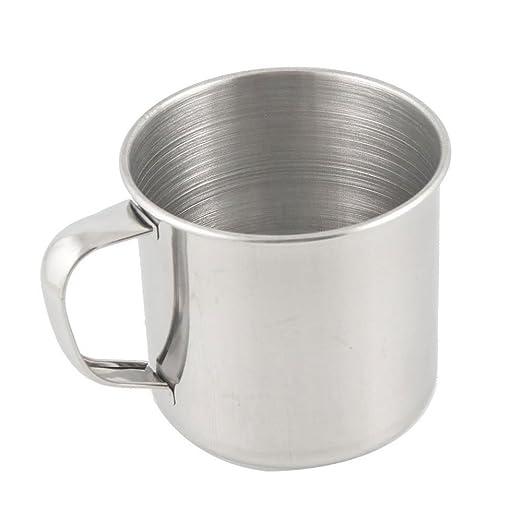 5 opinioni per SODIAL (R) Tazza di caffe' dell'acciaio inossidabile tazza di te' per campeggio
