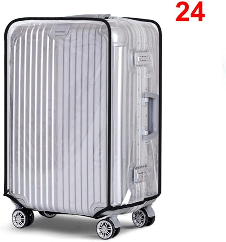 Creazy PVC Transparent Travel Luggage Protector Suitcase Cover 2022242830