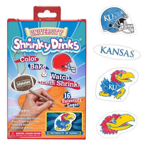 NCAA Kansas Jayhawks Ruff N' Ready Shrinky Dinks Plastic Sheets