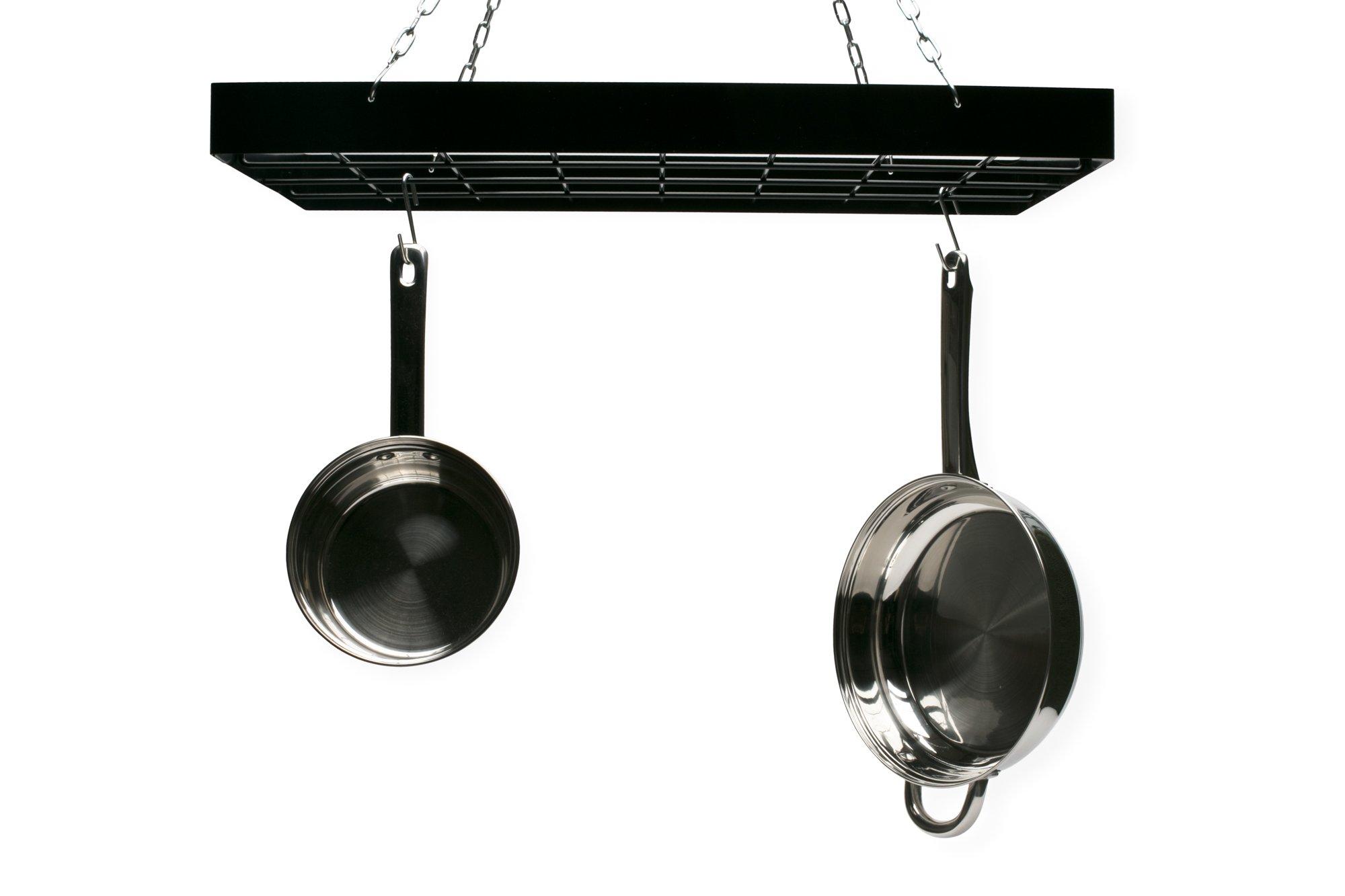 Fox Run 7801 Rectangle Pot Rack, 2'', Silver