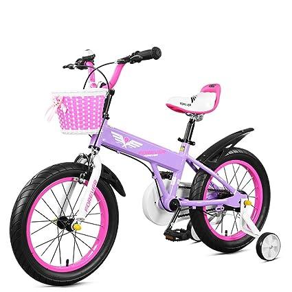 Fenfen Aleación de Aluminio para Bicicletas para niños Bicicleta de 14 Pulgadas Niños y niñas de