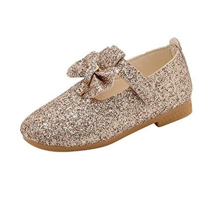 840c644c5a Amazon.com: Toponly Baby Girls Mary Jane Flats Soft Sole Infant ...