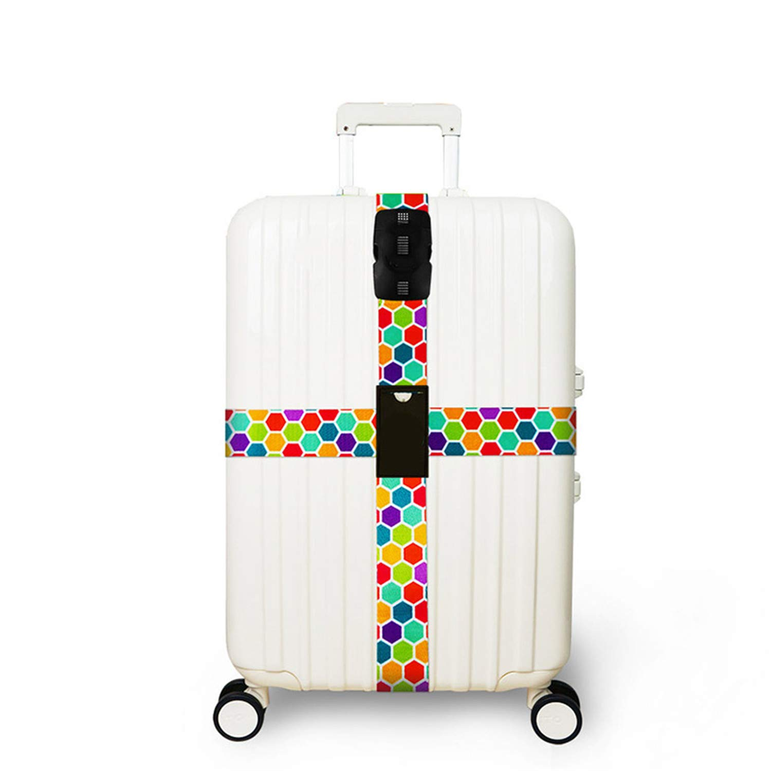 Password Lock Luggage Cross Strap Suitcase Bind Packing Belt Trolley Baggage Polyester Bandage Travel Accessories