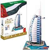 3D Puzzle Burj Al Arab World's Great Architecture Series 101 Pieces - Finished Size Is 16.3 X 10.8 X 23.6