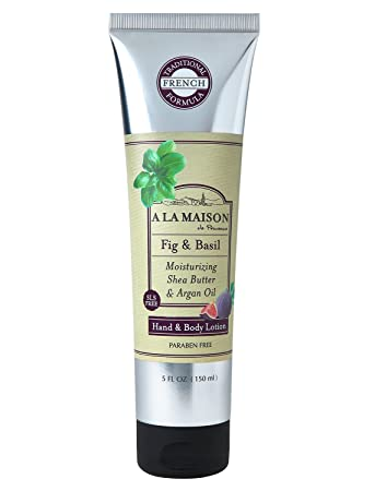 Amazon.com : a la Maison Lotion White, Fig and Basil, 5 Fluid Ounce : Beauty