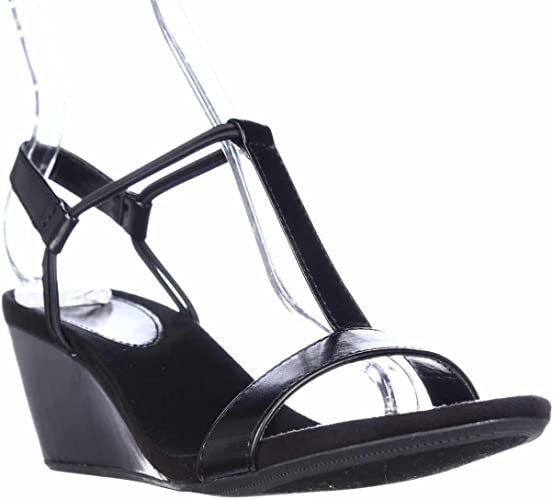 Style /& Co Womens Mulan Open Toe Casual Platform Sandals