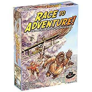 Evil Hat Productions Race to Adventure Board Game