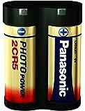 Panasonic 2CR5 Micropila al Litio per Fotocamera, in Blister, Rosso/Oro