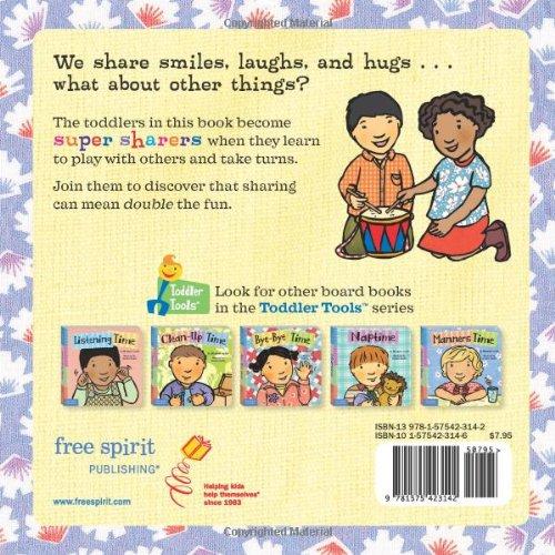 sharing time toddler tools elizabeth verdick marieka heinlen 9781575423142 amazoncom books