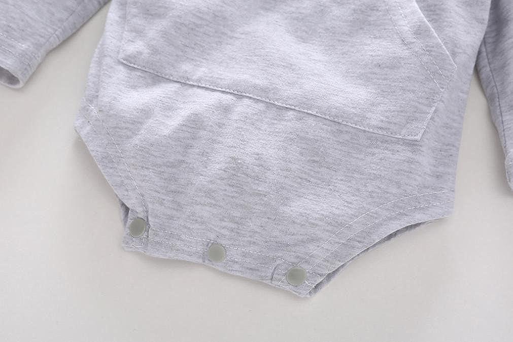erthome B/éb/é Manches Longues 0 /à 24 Mois Fille Sweat-Shirt /à Capuche