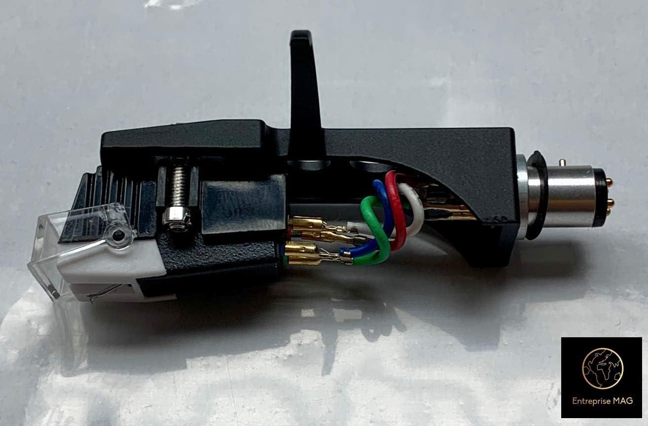 TT1625 TT1700 NEW Black Cartridge Headshell for Numark TTx TT1520 TT100