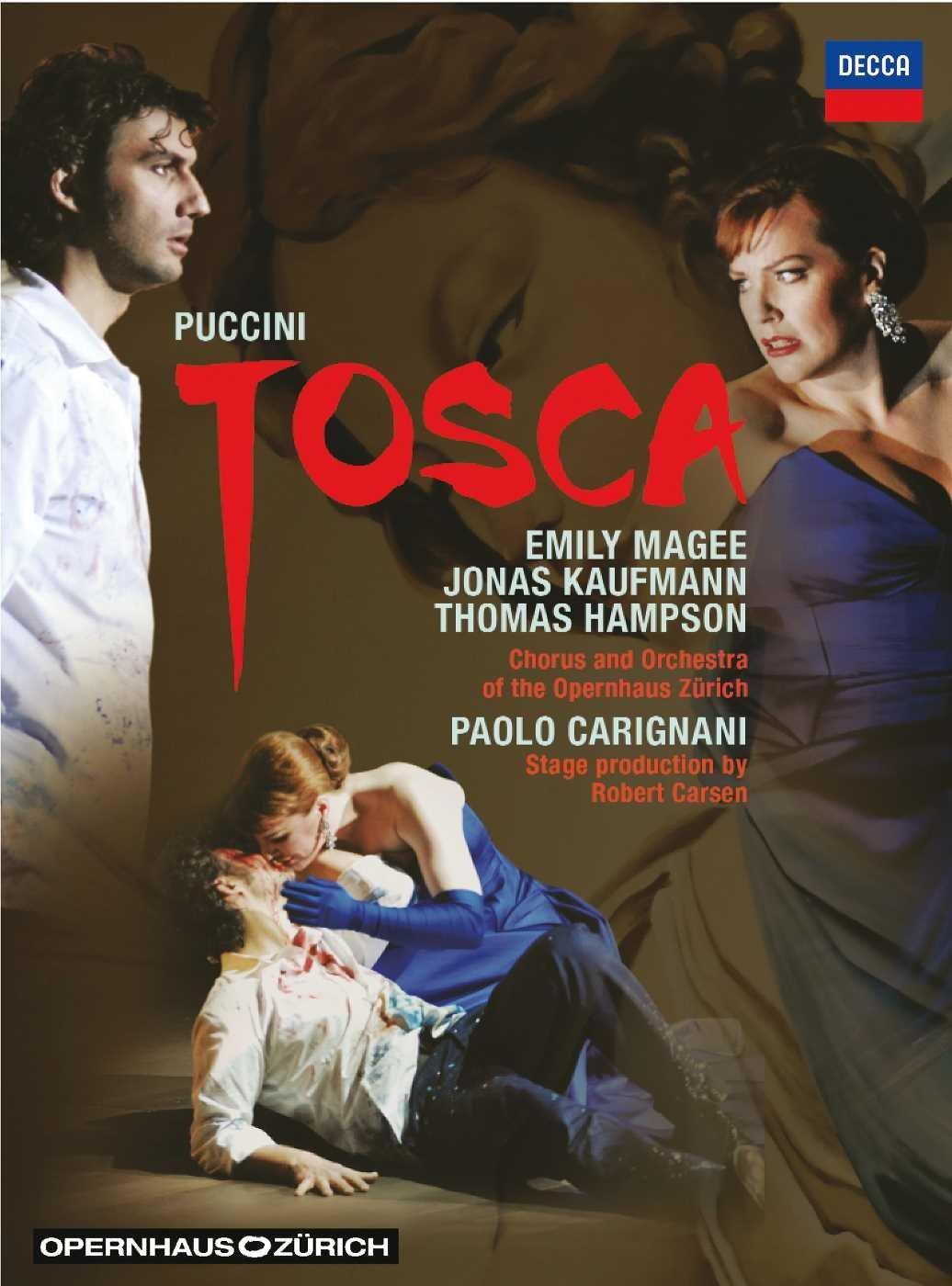 DVD : Thomas Hampson - Tosca (DVD)