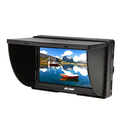 Viltrox Dc 50 Clip On Portable 5' Lcd Monitor With Hdmi Video Input With Standard & Sony Shoes by Viltrox