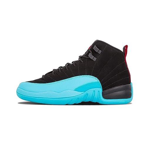 c3eb41ff33acd4 ... denmark nike mens air jordan 12 retro gamma blue leather basketball  shoes c5076 1599e