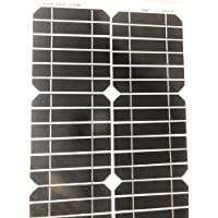 Panel solar fotovoltaico, celdas de silicio, 30W, 12V