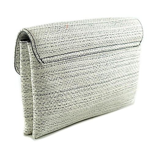Loeffler Randall Jr Lock Clutch Femmes Blanc Mini sac à main