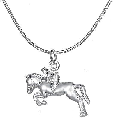 Pour Cavalier Femme Bijoux Animal De Cheval Collier Cowgirl Racing Lemegeton Pendentif Les Amateurs 9IHeWED2Yb