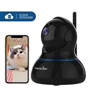 wansview IP Camera, 1080P Wireless Home Security Camera With Motion  Detection, Night Vision, 2-Way Audio and Pan/Tilt for Baby/Elder/Pet/Nanny  Monitor